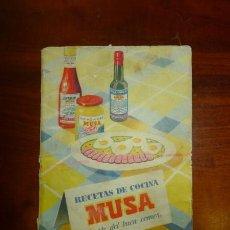 Libros de segunda mano: RECETAS DE COCINA MUSA : EL ARTE DEL BUEN COMER.. Lote 57699853