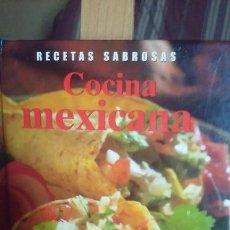 Libros de segunda mano: RECETAS SABROSAS - COMIDA MEJICANA - 120 DELICIOSAS RECETAS DE MÉXICO. Lote 57936681