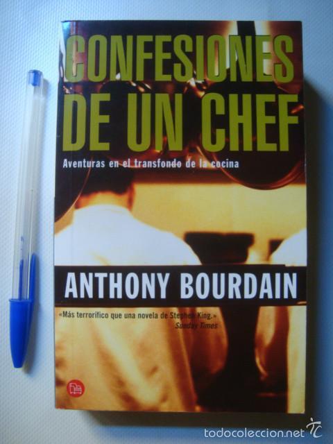 anthony bourdain - confesiones de un chef. aven - Comprar Libros de ...