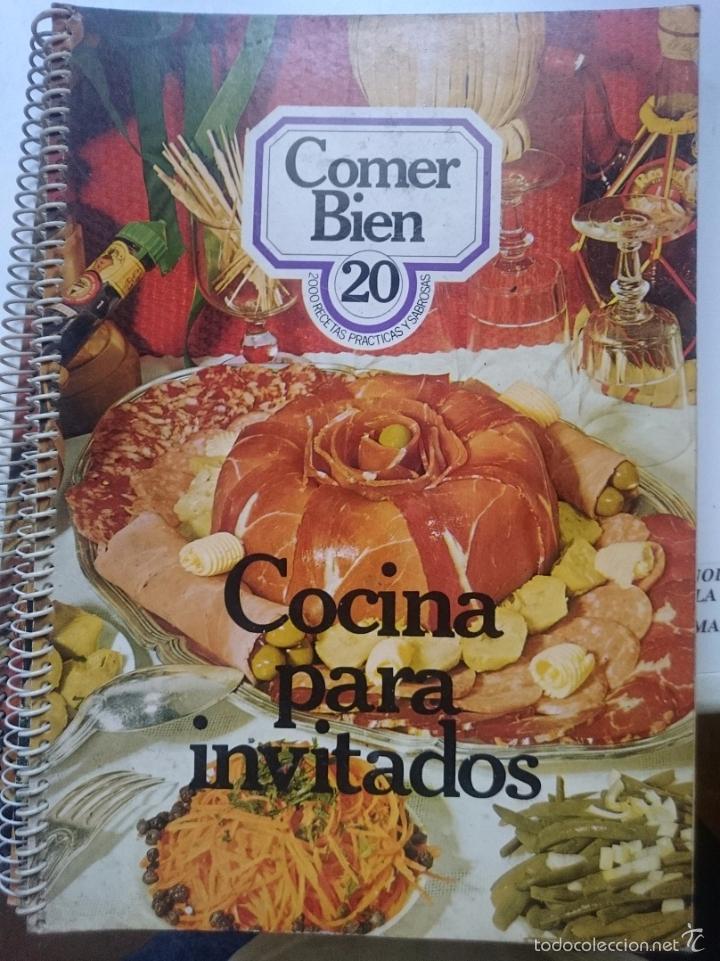 COMER BIEN N 20 - COCINA PARA INVITADOS - -- REFM1E1 (Libros de Segunda Mano - Cocina y Gastronomía)