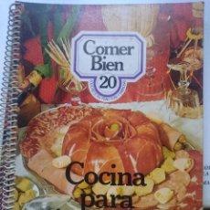 Libros de segunda mano: COMER BIEN N 20 - COCINA PARA INVITADOS - -- REFM1E1. Lote 58250083