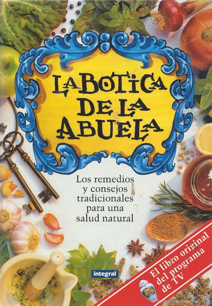 la botica de la abuela, cocina sana. ed. ba, - Comprar Libros de ...