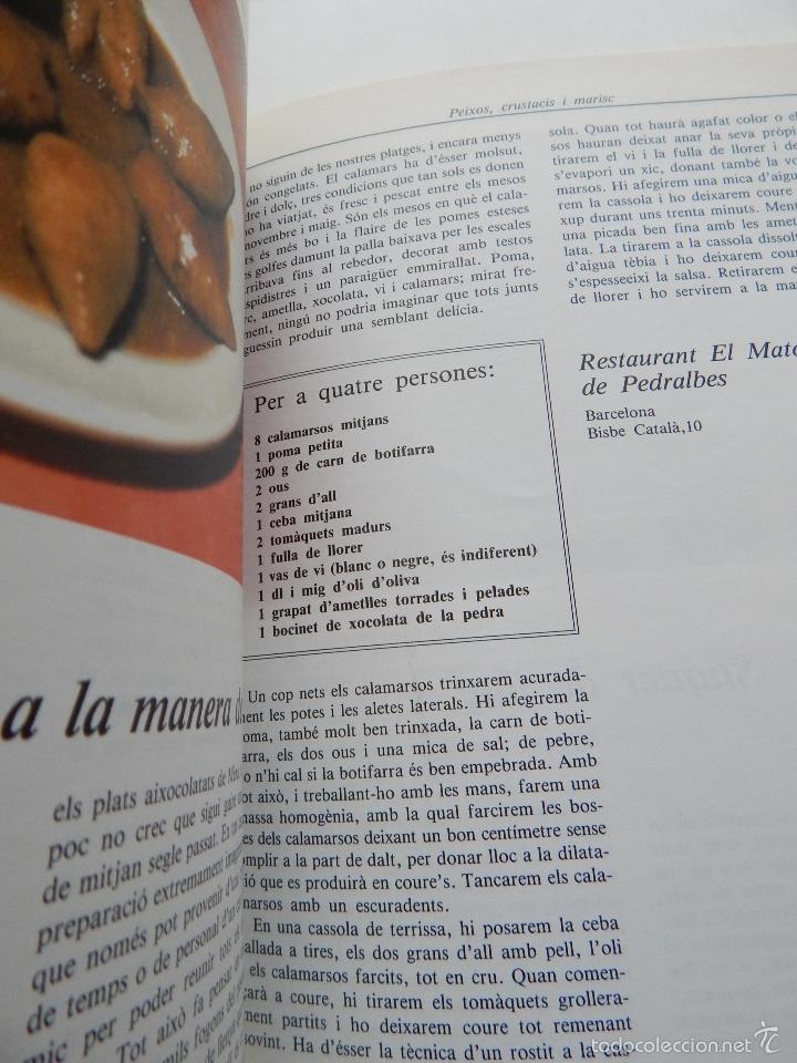 Libros de segunda mano: Bona cuina - Josep-Lluís Font 1989 - Foto 10 - 58333179