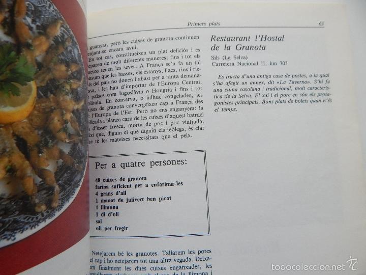 Libros de segunda mano: Bona cuina - Josep-Lluís Font 1989 - Foto 11 - 58333179