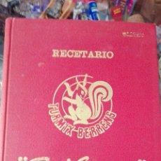 Libros de segunda mano: RECETARIO TURMIX BERRENS. Lote 58636476