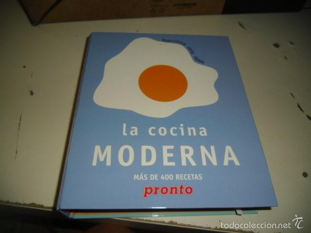 CAJ-16 LA COCINA MODERNA MUCHAS RECETAS SIN COMPROBAR SI ESTAN TODAS (Libros de Segunda Mano - Cocina y Gastronomía)