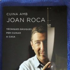 Libros de segunda mano: CUINA AMB JOAN ROCA / SERUNION / PLANETA / 2016. Lote 59695647