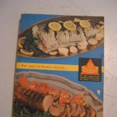 Libros de segunda mano: RECETARIO MAGEFESA 1968. Lote 59924323