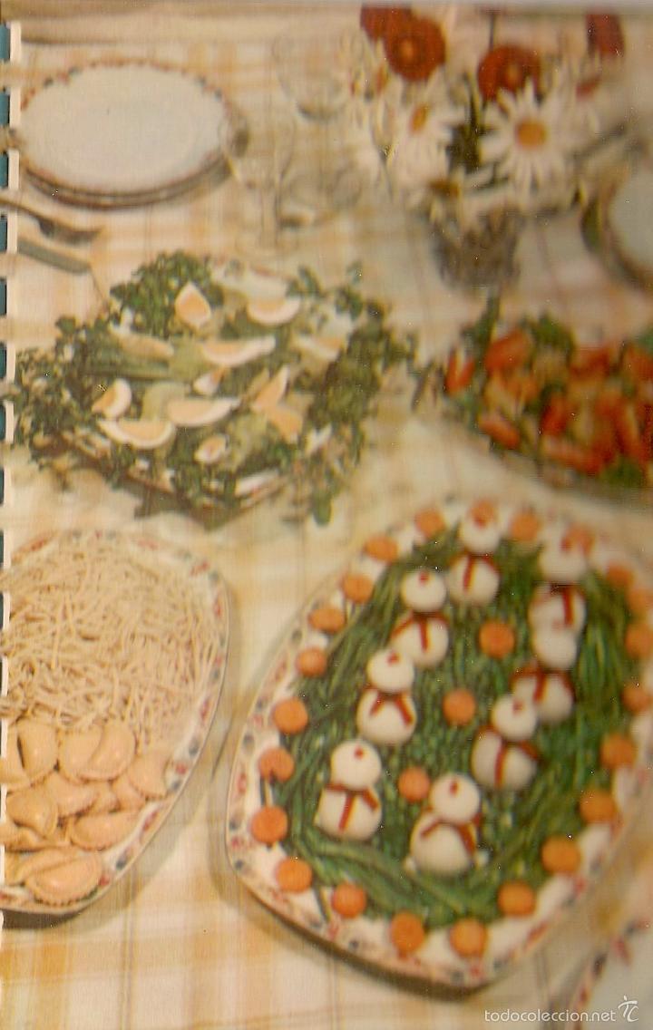 Libros de segunda mano: * RECETAS COCINA * Un nuevo arte de comer - 1958 - Foto 4 - 57260124