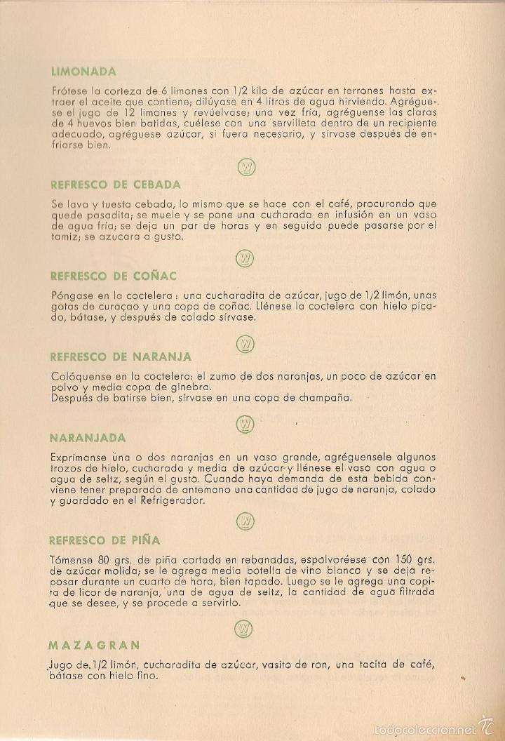 Libros de segunda mano: * RECETAS COCINA * Un nuevo arte de comer - 1958 - Foto 5 - 57260124