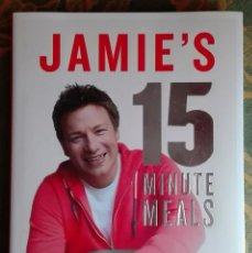 Libros de segunda mano: JAMIE OLIVER. JAMIE'S 15 MINUTE MEALS. DELICIOUS, NUTRITIOUS, SUPER-FAST FOOD. ENGLISH. NEW!. Lote 124586920