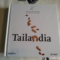 Libros de segunda mano: COCINA PAÍS POR PAÍS, TAILANDIA. EL PAIS.. Lote 61718096