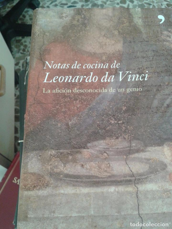 Notas De Cocina De Leonardo Da Vinci | Notas De Cocina De Leonardo Da Vinci Comprar Libros De Cocina Y