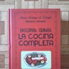 Gebrauchte Bücher - Enciclopedia culinaria - La cocina completa - María Mestayer Echagüe Marquesa Parabere - 63176928