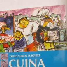 Libros de segunda mano: CUINA PER A ESTUDIANTS DE DAVID SURIOL PUIGVERT (CIE DOSSAT 2000). Lote 63416152