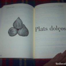 Libros de segunda mano: S'ASSASSÍ D'ES TUMBET. CUINA VEGETARIANA OVOLACTEA MALLORQUINA. DEDICATÒRIA ORIGINAL XESC BONNÍN .. Lote 64126323