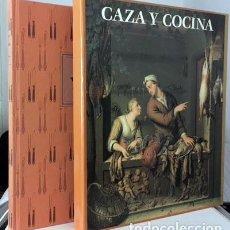 Libros de segunda mano: GONZALO SOL : CAZA Y COCINA. (ESTUCHE. ILUSTRACIONES A COLOR Y B/N. EDICION NUMERADA. Lote 64899007