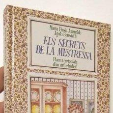 Libri di seconda mano: ELS SECRETS DE LA MESTRESSA - MARÍA PAOLA AMENDOLA, AGATA BENEDETTI. Lote 65829514