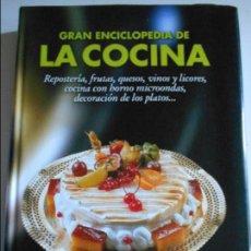 Libros de segunda mano: REPOSTERIA, FRUTAS, VINOS Y LICORES, COCINA CON HORNO MICROONDAS, DECORACION DE LOS PLATOS... GRAN E. Lote 66744738