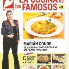 Libros de segunda mano: LA COCINA DE LOS FAMOSOS - LECTURAS - Nº 20 AL 26. Lote 66834250