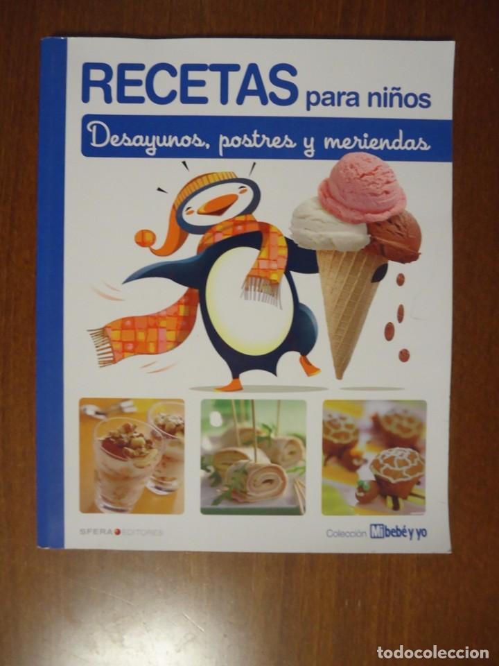 Libro recetas para ni os desayunos postres y me comprar libros de cocina y gastronom a en - Libros de cocina para ninos ...