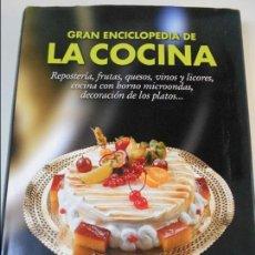Libros de segunda mano: GRAN ENCICLOPEDIA DE LA COCINA. REPOSTERIA, FRUTAS, QUESOS, VINOS Y LICORES, COCINA CON HORNO MICROO. Lote 69049081