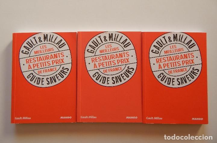 GAULT & MILLAU. LES MEILLEURS RESTAURANTS À PETITS PRIX DE FRANCE - PHILIPPE TOINARD - 3 LIBROS (Libros de Segunda Mano - Cocina y Gastronomía)