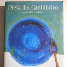 Libros de segunda mano: DIETA DEL CANTABRICO. APRENDE A COMER. JESUS BERNARDO GARCIA. EDICIONES NOBEL, 2002. TAPA DURA CON S. Lote 69813701