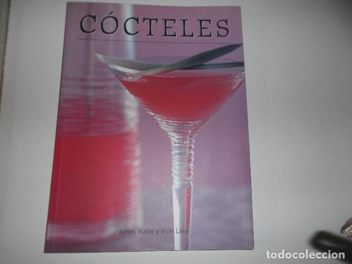 COCTELES JAMES BUTLER Y VICKI LILEY 2005 (Libros de Segunda Mano - Cocina y Gastronomía)