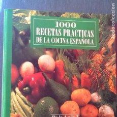 Libros de segunda mano: 1000 RECETAS PRÁCTICAS DE LA COCINA ESPAÑOLA. 5 ARCHIVADORES. Lote 70715833