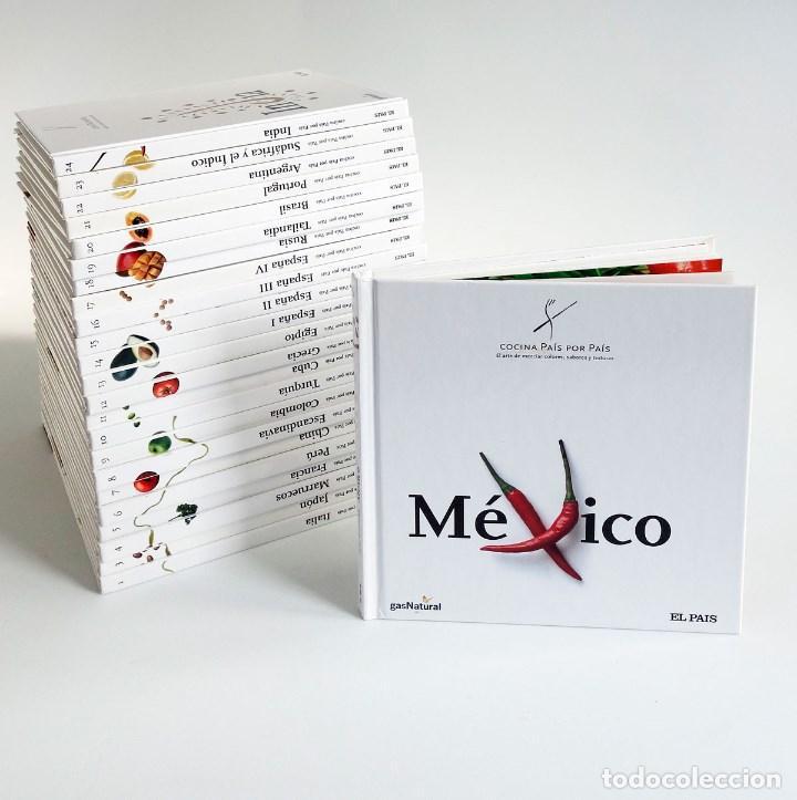 cocina país por país. 24 tomos completa - Comprar Libros de cocina y ...