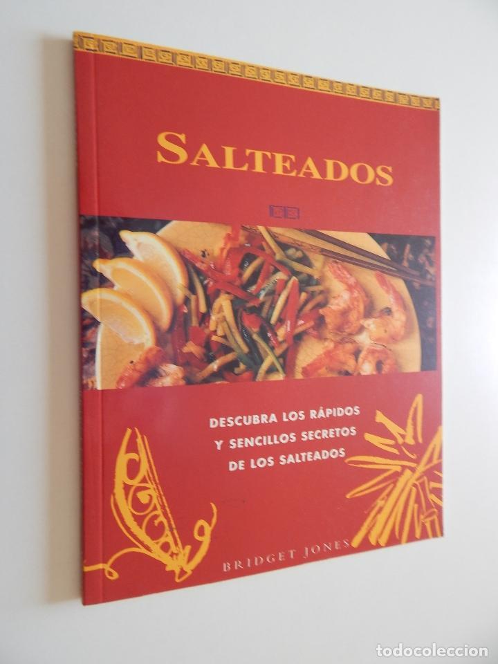 SALTEADOS DESCUBRA LOS RÁPIDOS Y SENCILLOS SECRETOS DE LOS SALTEADOS - BRIDGET JONES (Libros de Segunda Mano - Cocina y Gastronomía)