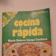 Libros de segunda mano: COCINA RAPIDA. Lote 72058539