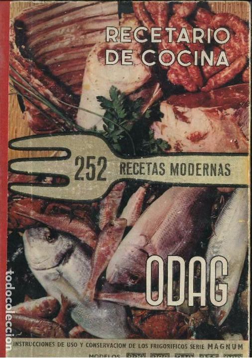 RECETAS DE COCINA 252 RECETAS MODERNAS (Libros de Segunda Mano - Cocina y Gastronomía)
