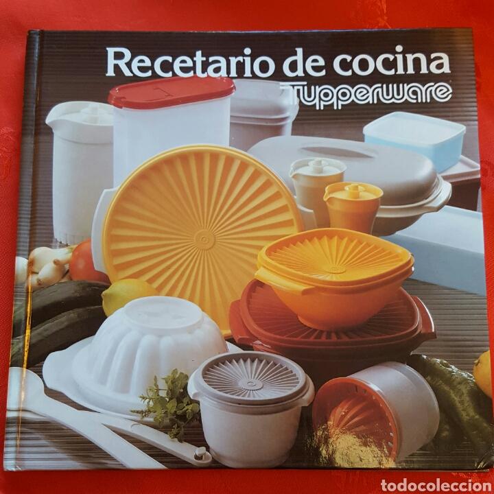 Antiguo recetario de cocina tupperware comprar libros de for Cocina juguete segunda mano