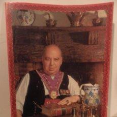Livres d'occasion: CARTA MENÚ CENA DE GALA MESÓN DE CANDIDO SEGOVIA. PARA LABORATORIOS PHARMAZAN, PROYECTO MEDICI.1997. Lote 74757091