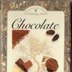 Libros de segunda mano: JILL NORMAN : CHOCOLATE (BANTAM, 1990) EN INGLÉS. Lote 75046695