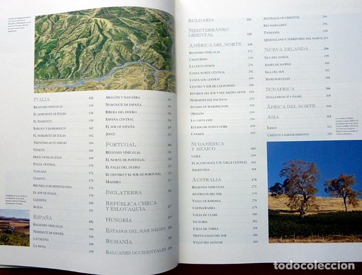 Libros de segunda mano: ATLAS DEL VINO: VINOS Y REGIONES VINÍCOLAS DEL MUNDO - OZ CLARKE - BLUME - 1996 (1ª EDICIÓN) - NUEVO - Foto 6 - 75231787