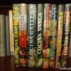 Libros de segunda mano: LOTE DE 8 LIBROS DE COCINA DE LA EDITORIAL EVEREST. Lote 75468803