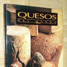 Libros de segunda mano: QUESOS DEL MUNDO- ED, LIMUSA1994. Lote 75512507