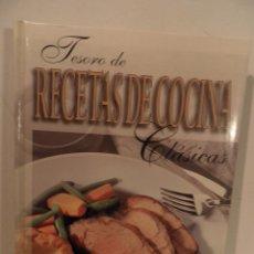 Libros de segunda mano: TESORO DE RECETAS DE COCINA CLÁSICAS . AUTOR : BUTLER, JOHN ( CHEF MAESTRO ). Lote 75758687