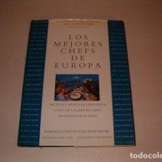 Libros de segunda mano: ACADEMIA INTERNACIONAL DE GASTRONOMÍA. LOS MEJORES CHEFS DE EUROPA. RM78955. . Lote 76235059