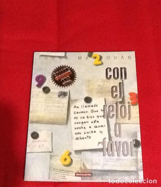 CON EL RELOJ A FAVOR Y AL ENCUENTRO DEL MILENIO IGONE MARRODAN MONDADORI 1999 91 PGS (Libros de Segunda Mano - Cocina y Gastronomía)