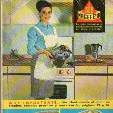 Libros de segunda mano: POR AQUÍ LA BUENA COCINA A LA MANERA DE FRANÇOISE BERNARD (MAGEFESA, 1966). Lote 76795627