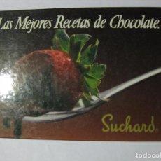 Libros de segunda mano: LAS MEJORES RECETAS DE CHOCOLATE - SUCHARD - 1986 - PRIMERA EDICIÓN. Lote 77053577