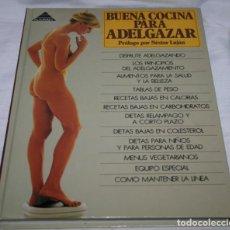 Libros de segunda mano: BUENA COCINA PARA ADELGAZAR, MARGUERITE PATTEN, ALTORREY 1994, LIBRO. Lote 77982105