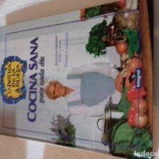 Libros de segunda mano: COCINA SANA PARA CADA DIA-LA BOTICA DE LA ABUELA-RBA 1988. Lote 78381433