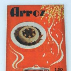 Libros de segunda mano: REVISTA DE COCINA Y HOGAR, ARROZ, NUM. 160. ABRIL DE 1944. TIENE 80 PAG + PUBLICIDAD. MEDIDAS: 24 X. Lote 80171697