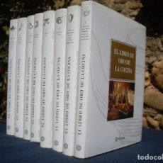 Libros de segunda mano: EL LIBRO DE ORO DE LA COCINA, 8 TOMOS O.COMPLETA 1ªED.2001 PLANETA. Lote 80367213
