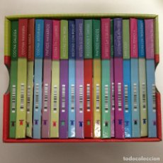 Libros de segunda mano: MINIBIBLIOTECA DE COCINA (18 EJEMPLARES) TODOLIBRO. Lote 81143868